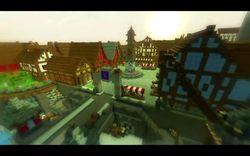 Minecraft - village de Bowerstone