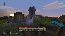 Minecraft Xbox 360 - village