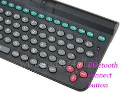 Mini Bluetooth Keyboard  3