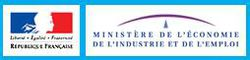 Ministere Economie Industrie Emploi logo