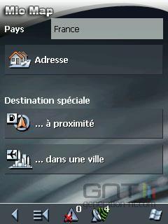 Mio A201 Interface