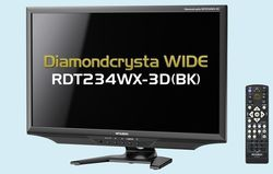 Mitsubishi DiamondCrysta Wide Series RDT234WX-3D