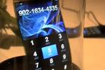 Mobile écran AMOLED flexible