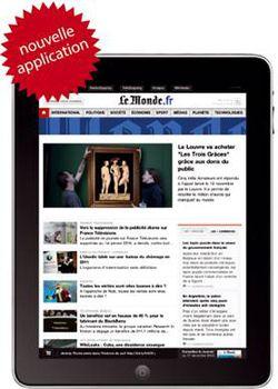 Le Monde FR iPad