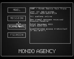 Mondo Agency screen