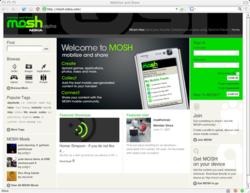 Mosh yahoo logo