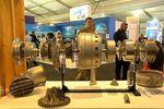 Deux moteurs d'avions fonctionnels fabriqués par une imprimante 3D