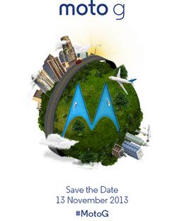 Moto G invitation
