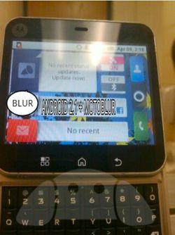 Motorola Android Motoblur