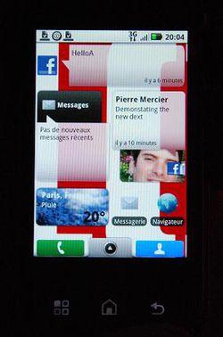 Motorola Dext Motoblur 05