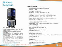 Motorola Sawgrass