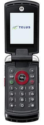 Motorola V750 ouvert