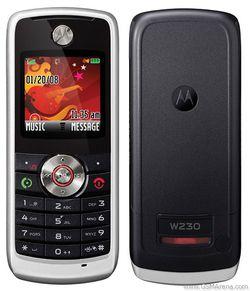Motorola W230 m