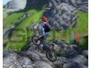 Mountain bike adrenaline featuring salomon small