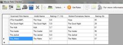 Movie Rate Checker screen1