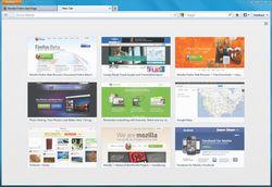 Mozilla Firefox 13 screen1