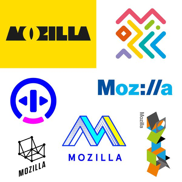Mozilla-sept-nouveaux-logos