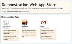Mozilla-Web-App-Store