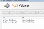 Mp3 Volumer : augmenter le volume de ses fichiers audio