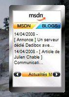 Gadget MSDN / Innovate-on