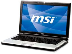 MSI EX460 ouvert