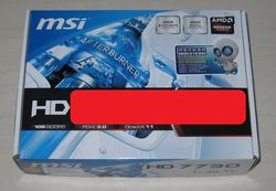MSI Radeon HD 7730 1