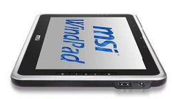 MSI WindPad 100W côté