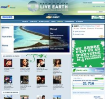 Msn live earth