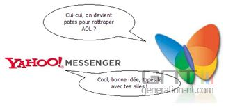 Msn messenger yahoo messenger