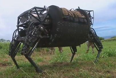mule robotique LS3