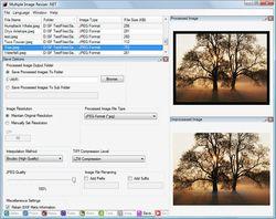 Multiple Image Resizer .NET screen1