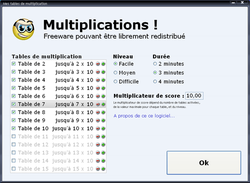 Multiplication! screen2