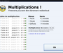 Multiplication! : retenir ses tables de multiplication
