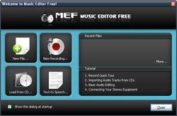 Music Editor Free screen1