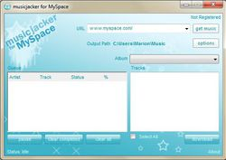 musicjacker pour MySpace