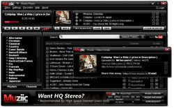 muziic player screen 1
