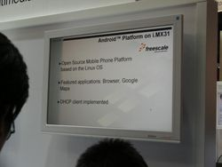 MWC 2008 Google Android 01