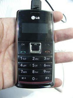 MWC 2008 LG KT610 01