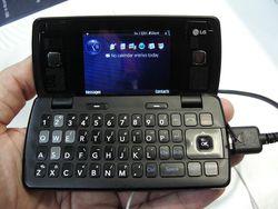 MWC 2008 LG KT610 02