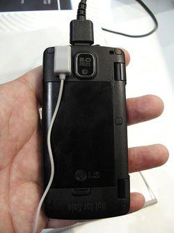MWC 2008 LG KT610 05