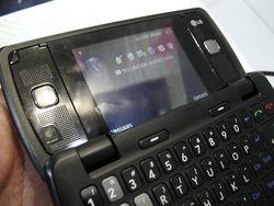 MWC 2008 LG KT610 06