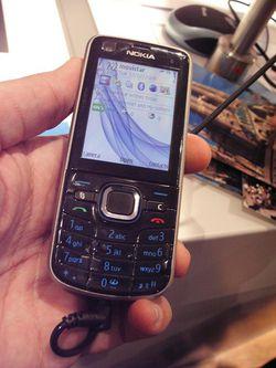 MWC 2008 Nokia 6220 Classic 01