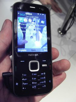 MWC 2008 Nokia N78 01
