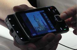 MWC 2008 Nokia N96 01a