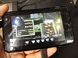 MWC 2008 Nvidia APX 2500
