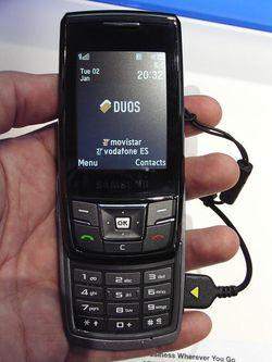 MWC 2008 Samsung D880 01