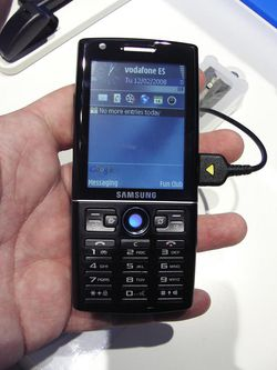 MWC 2008 Samsung i550 01