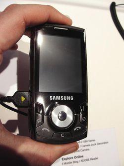 MWC 2008 Samsung i560 01
