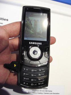 MWC 2008 Samsung i560 02