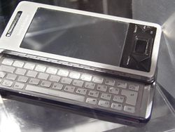 MWC 2008 Sony Ericsson Xperia 05